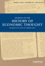 journal_of the history of economic thought